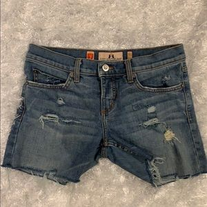 Juicy Couture Sassy Vintage Jean Shorts
